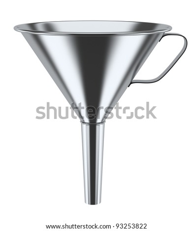 Funnel - stock photo