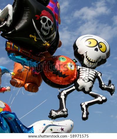 funny balloons - stock photo