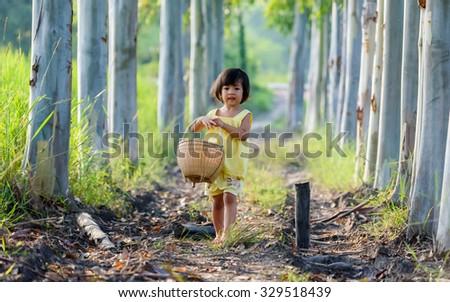Funny child - stock photo