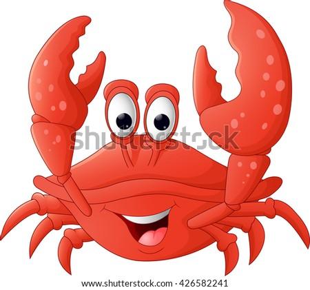 cartoon crab stock images  royalty free images   vectors Cartoon Shrimp Clip Art Cartoon Shrimp