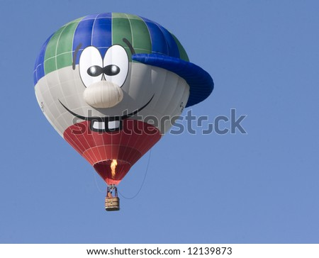 Funny Face Balloon - stock photo