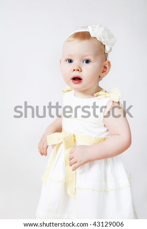 funny girl in dress