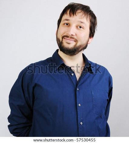 funny man - stock photo
