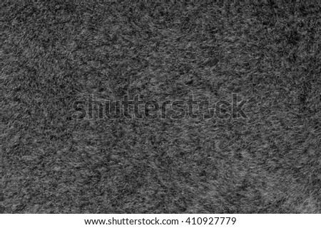 Fur sheepskin gray. Texture, background - stock photo