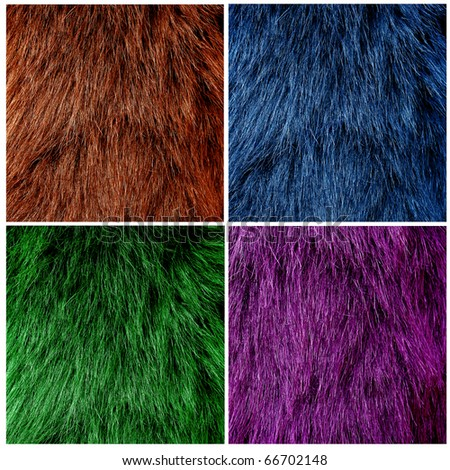 Fur texture Closeup of beautiful. Useful as background