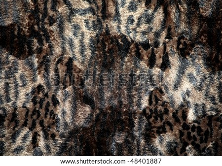 Fur texture (Safari Style) - stock photo