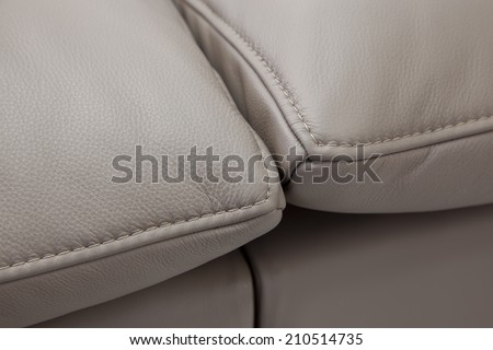 furniture detail - upholstery  - stock photo