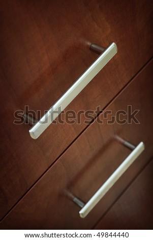 Furniture handles - stock photo