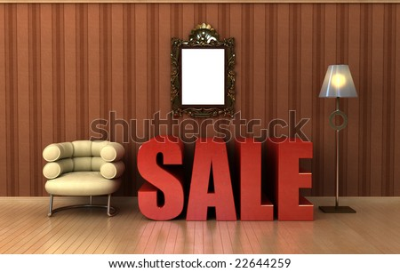 space furniture sale. furniture sale graphic with pinstripe wallpaper possible idea for visual shop window design plenty space