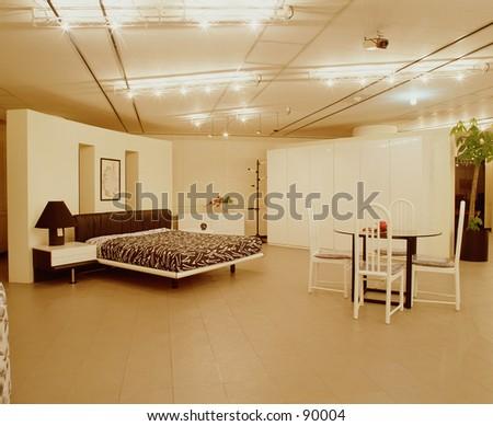 Furniture store - stock photo