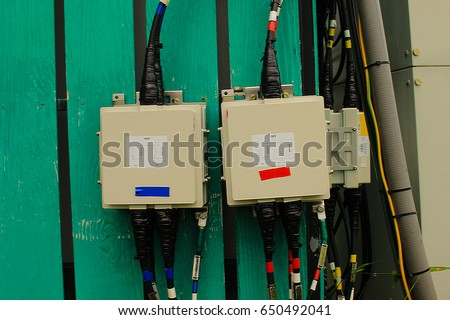 stock photo fuse box of safety 650492041 fuse box safety stock photo 650492041 shutterstock fuse box safety at gsmx.co