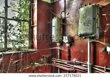 fuse box ภาพสต็อก ภาพและเวกเตอร์ปลอดค่าลิขสิทธิ์ shutterstock fuse boxes in abandoned house