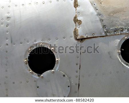 fuselage - stock photo