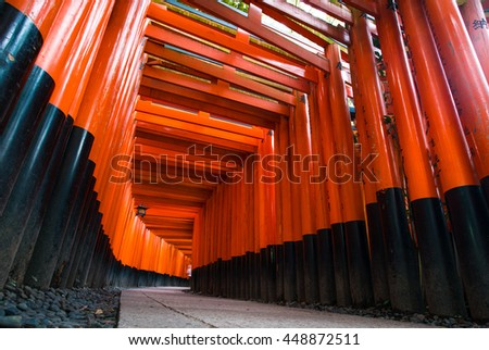 Fushimi Inari Taisha is the head shrine of Inari, located in Fushimi-ku, Kyoto, Japan.