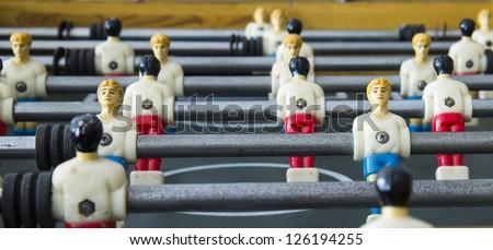 FussBall Table - stock photo