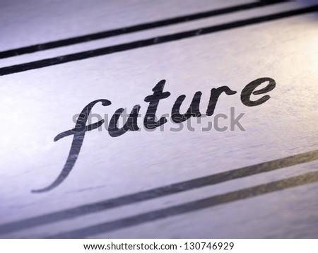 Future - stock photo