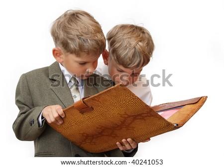 Future business team - stock photo