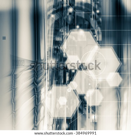 future research background - concept for business solution - stock photo
