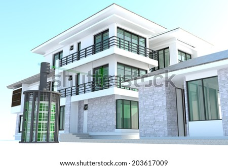 Condominium stock photos images pictures shutterstock - House outer design pictures ...