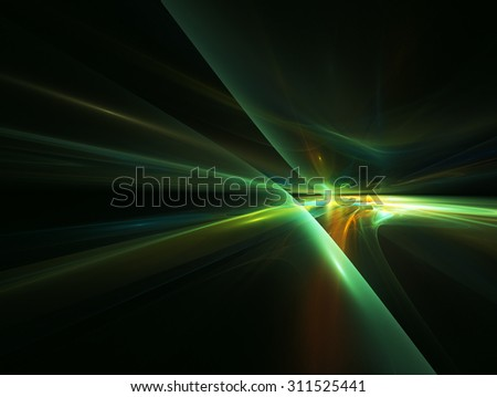 Futuristic abstract background with glowing lines