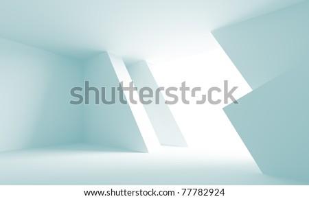 Futuristic Architecture Background - stock photo