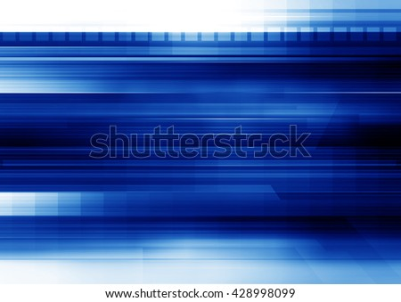 Futuristic blue background