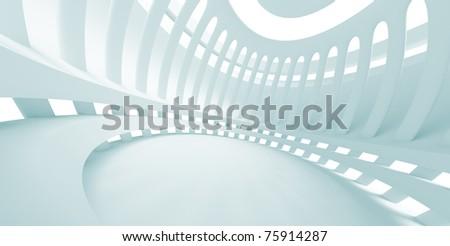 Futuristic Building - stock photo