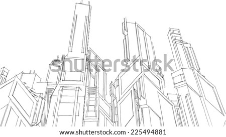 Gallery Images And Information Futuristic Building Sketch
