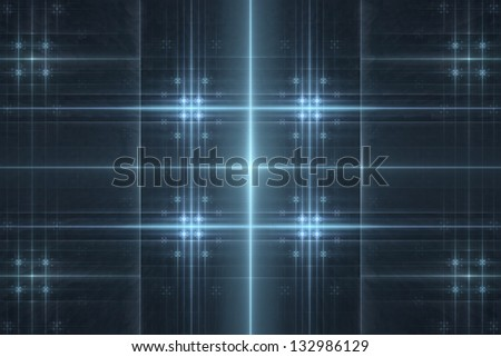 Futuristic 3D abstract background - stock photo