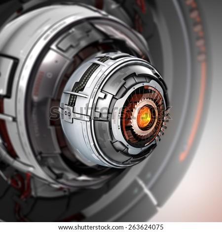 robot eye stock images royaltyfree images amp vectors