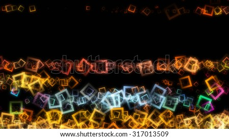 futuristic square background design illustration with space for your text