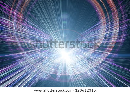 futuristic technology background design with lights