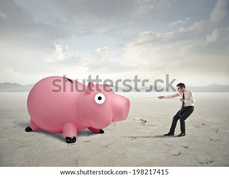 gained - stock photo