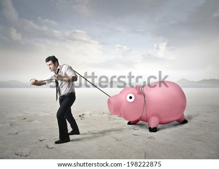 gained success - stock photo