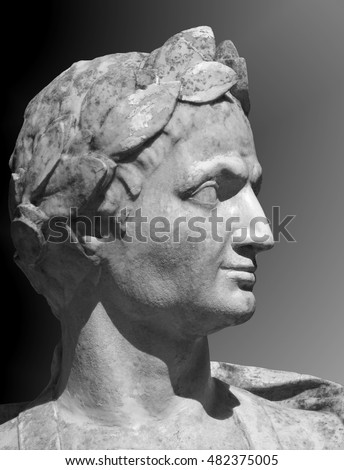a biography of gaius julius caesar a roman general Julius caesar was a roman general and dictator who lived from 100 bc to 44 bc he helped to make rome a great empire he was also a talented writer.