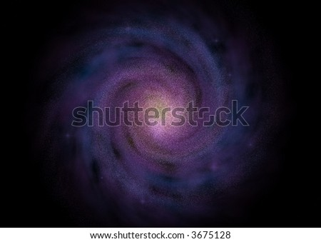Galaxy - stock photo