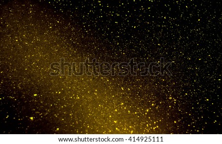 Galaxy Bubble Background with shimmer effect creating space like scene