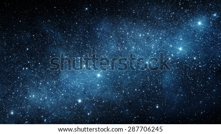 Galaxy. Elements of this image furnished by NASA. - stock photo