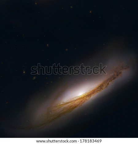 "Galaxy photo in outer space. ""Elements of this image furnished by NASA"""