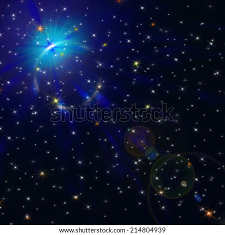 galaxy stars background