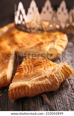 galette - stock photo