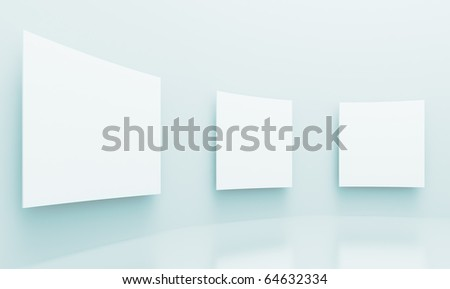 Gallery Background - stock photo