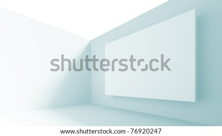 Gallery Interior - stock photo