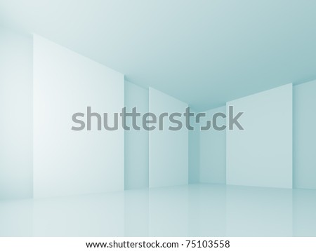 Gallery Wall - stock photo