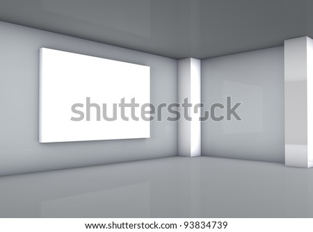 gallery with light plate