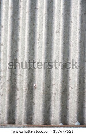 galvanized iron roof