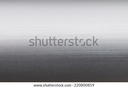 galvanized steel plate - reflection background metallic stainless corrugated chrome texture - stock photo