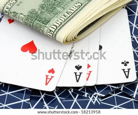 Gambling - stock photo
