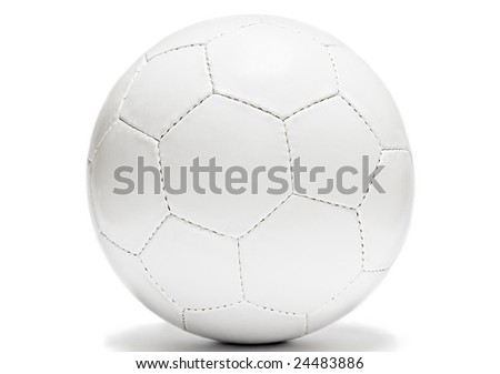 game ball isolated on white background - stock photo