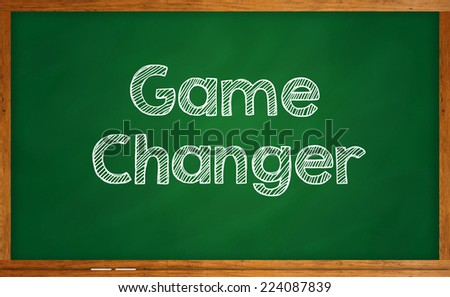 Game Changer - stock photo